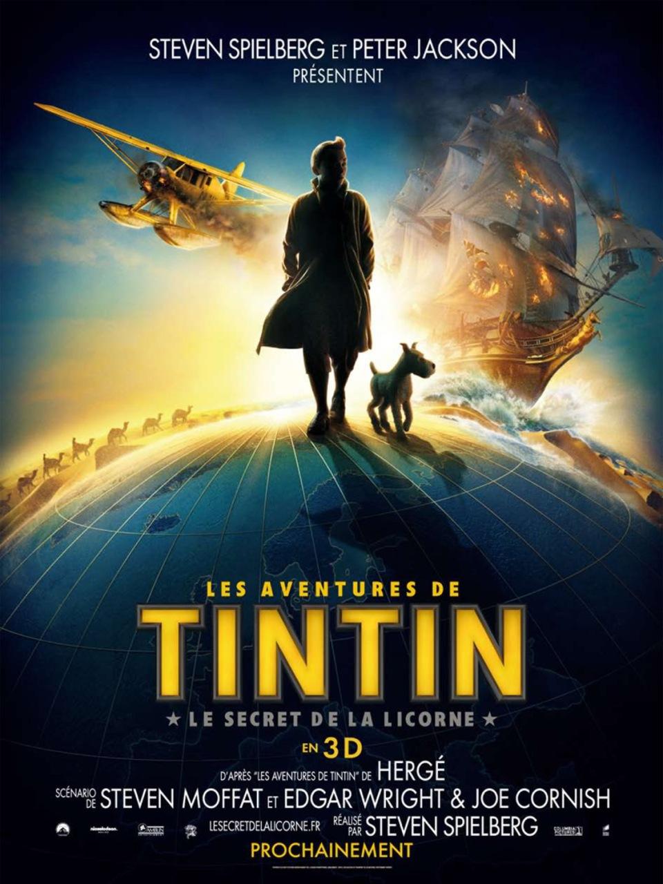 affiche-Les-Aventures-de-Tintin-Le-Secret-de-la-licorne-The-Adventures-of-Tintin-Secret-of-the-Unicorn-2010-1